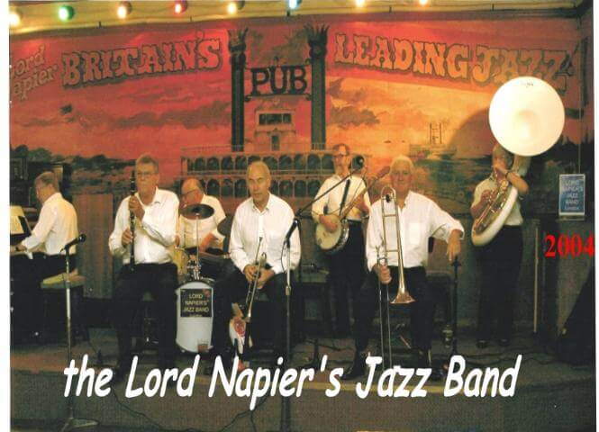 »The Lord Napier's Jazz Band«