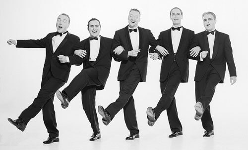 Bandfoto »Odeon Jazz Quartett & Swinging Voices«