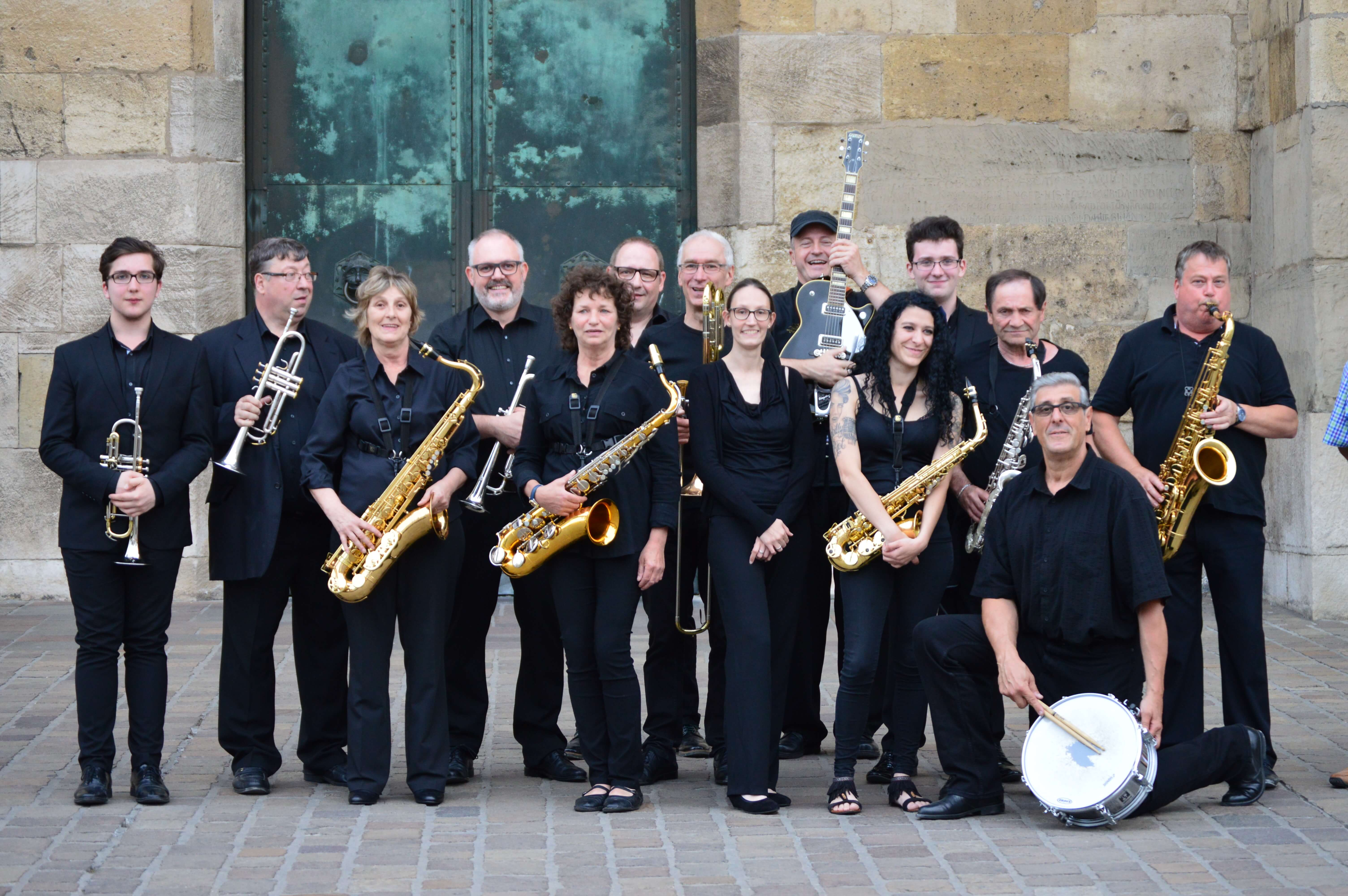 Bandfoto »Big Music Band 2001 Esch-Alzette«